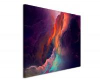 Leinwandbild abstraktes Bild Wolken