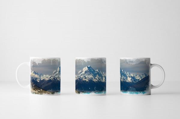 Tasse Alpen am See