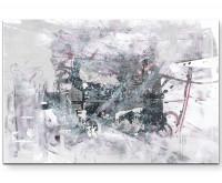 Leinwandbild abstrakt - Einfach mal