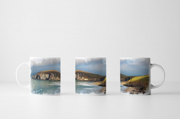 Tasse Keem Beach auf Achill Island