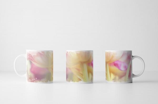 Tasse Rosa Pastell Tulpe