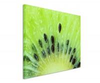 Leinwandbild Aufgeschnittene Kiwi