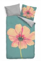 Bettwäsche - Pinke Blume