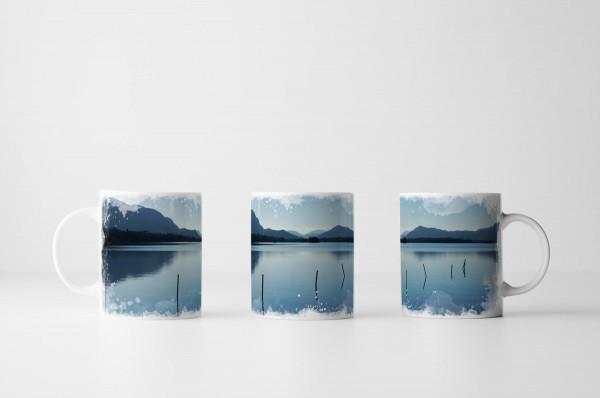 Tasse Stiller Bergsee