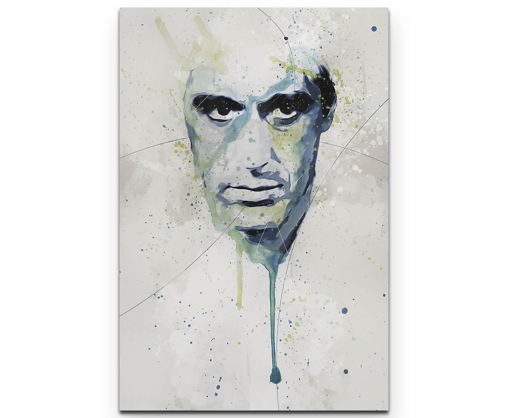 Al Pacino Scarface II als Premium Leinwandbild | Splash Art ...