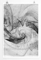 Poster abstrakt - Twister Poster
