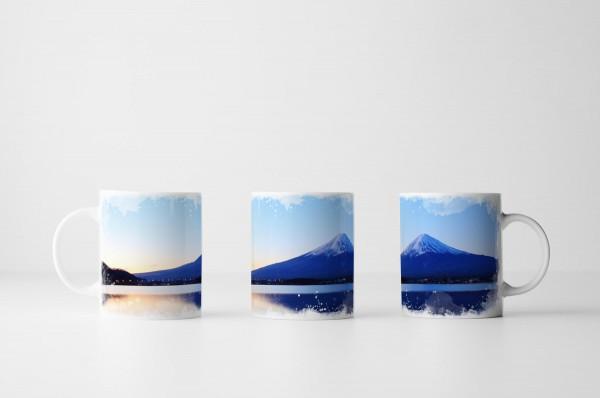 Tasse Mount Fuji in Japan