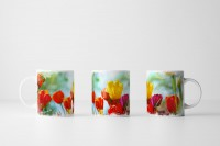 Tasse  Schöne Frühlingsblumen