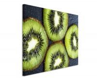 Leinwandbild Kiwi Früchte