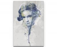 Beethoven I als Premium Leinwandbild