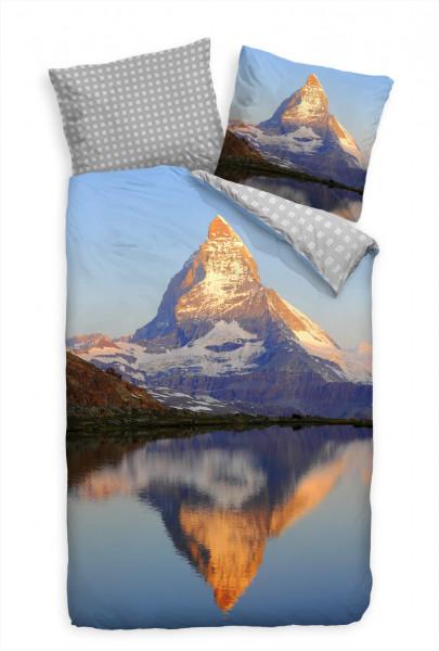 Bettwäsche - Matterhorn in der Sonne