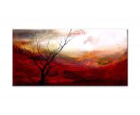 Gemälde abstrakt - lonely tree