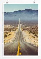 Poster Route 66 im Sommer