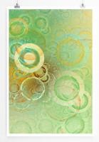 Poster abstrakt - soap Bubbles