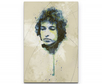 Bob Dylan I Premium Leinwandbild