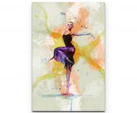 Ballett IV als Premium Leinwandbild