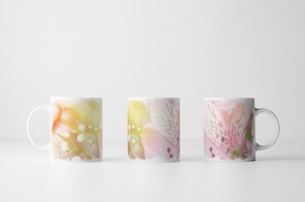 Tasse Gesprenkelte Orchidee