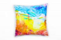 Colorful Swabs Deko Kissen