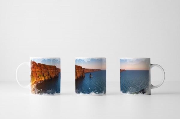 Tasse - Cliffs of Moher bei Sonnenaufgang