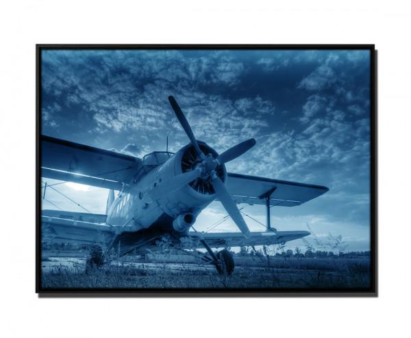Doppeldeckel Flugzeug
