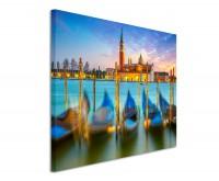 Leinwandbild Venedig Canal Grande mit Markusdom