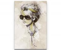 Brigitte Bardot I Premium Leinwandbild