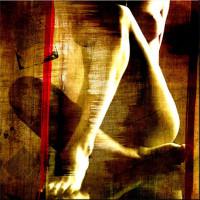Leinwandbild limited Edition - bare Feet