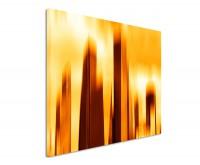 Leinwandbild abstrakt Wolkenkratzer