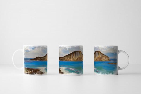 Tasse Bild von Chinaman's Hat Island Oahu Hawaii