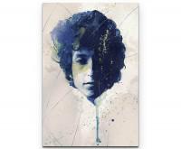 Bob Dylan Premium Leinwandbild