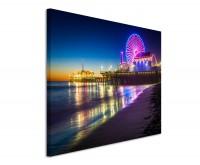 Leinwandbild Santa Monica Pier Kalifornien