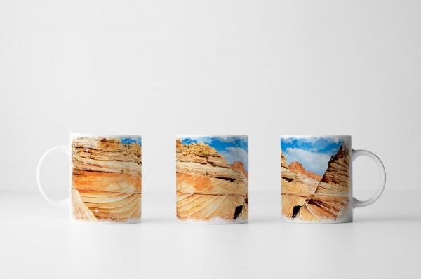 Tasse Die Welle Arizona USA