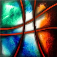 Gemälde abstrakt - flanonche1