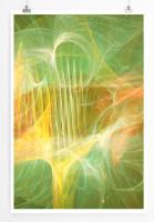 Poster abstrakt - Sonne am MIttag Poster