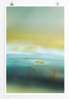 Poster abstrakt - blue Water