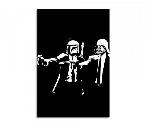 Star_Wars_Pulp_Fiction Wallart für Fans