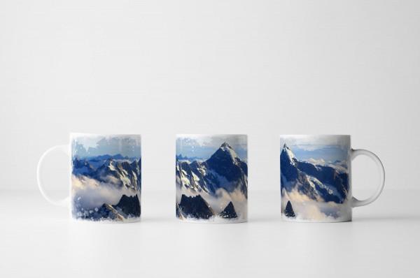 Tasse Beeindruckendes Gebirge