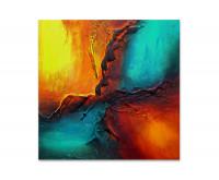 Gemälde abstrakt - Vierer Color