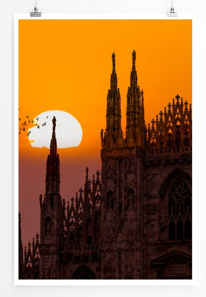 Poster Kathedrale in Mailand