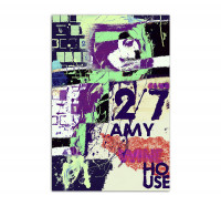 Premium Poster - Amy Winehouse-Club 27
