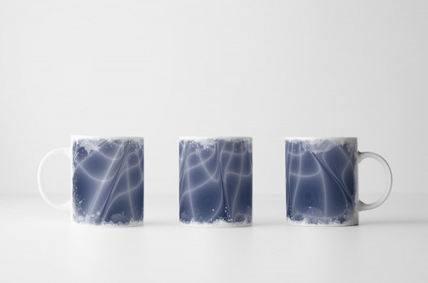 Tasse Lichtreflexe und Bahnen
