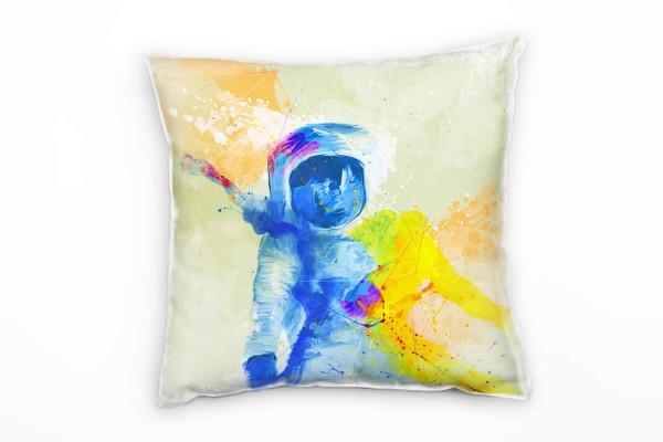 Astronaut Deko Kissen