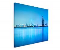 Premium Leinwandbild Dubai Skyline