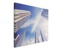 Premium Leinwandbild Wolkenkratzer in Chicago