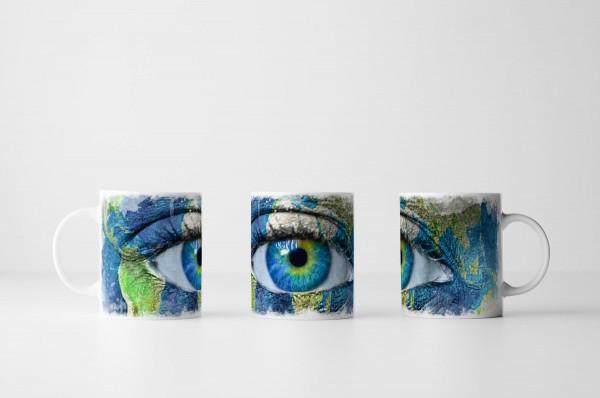 Tasse Das Gesicht der Erde