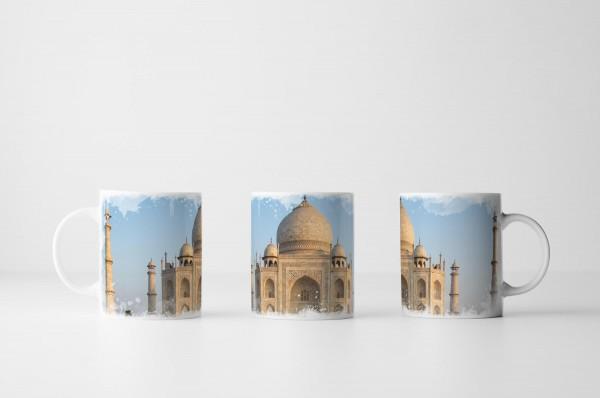 Tasse Taj Mahal Mausoleum in Indien