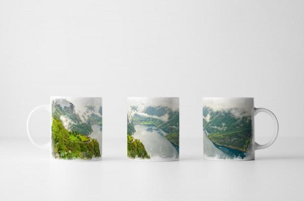 Tasse Norwegischer Fjord