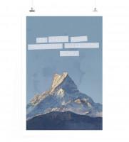 Poster Alles scheint unmöglich bis es geschafft ist.