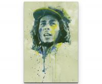Bob Marley Premium Leinwandbild