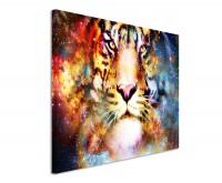 Leinwandbild Space Tiger